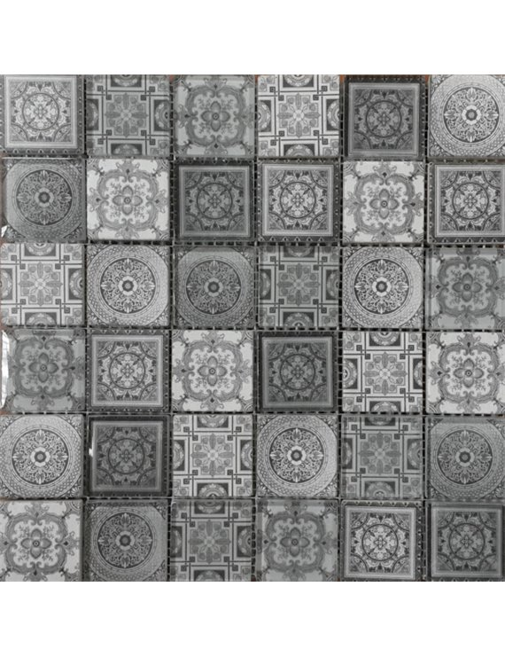 Мозаика ORRO Glasstone CARPET GRAY